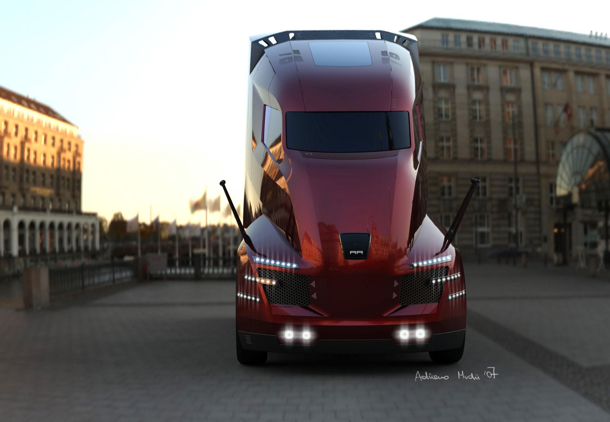 Pictures Of Future Trucks: Road Runner By Adriano Mudri, Austria