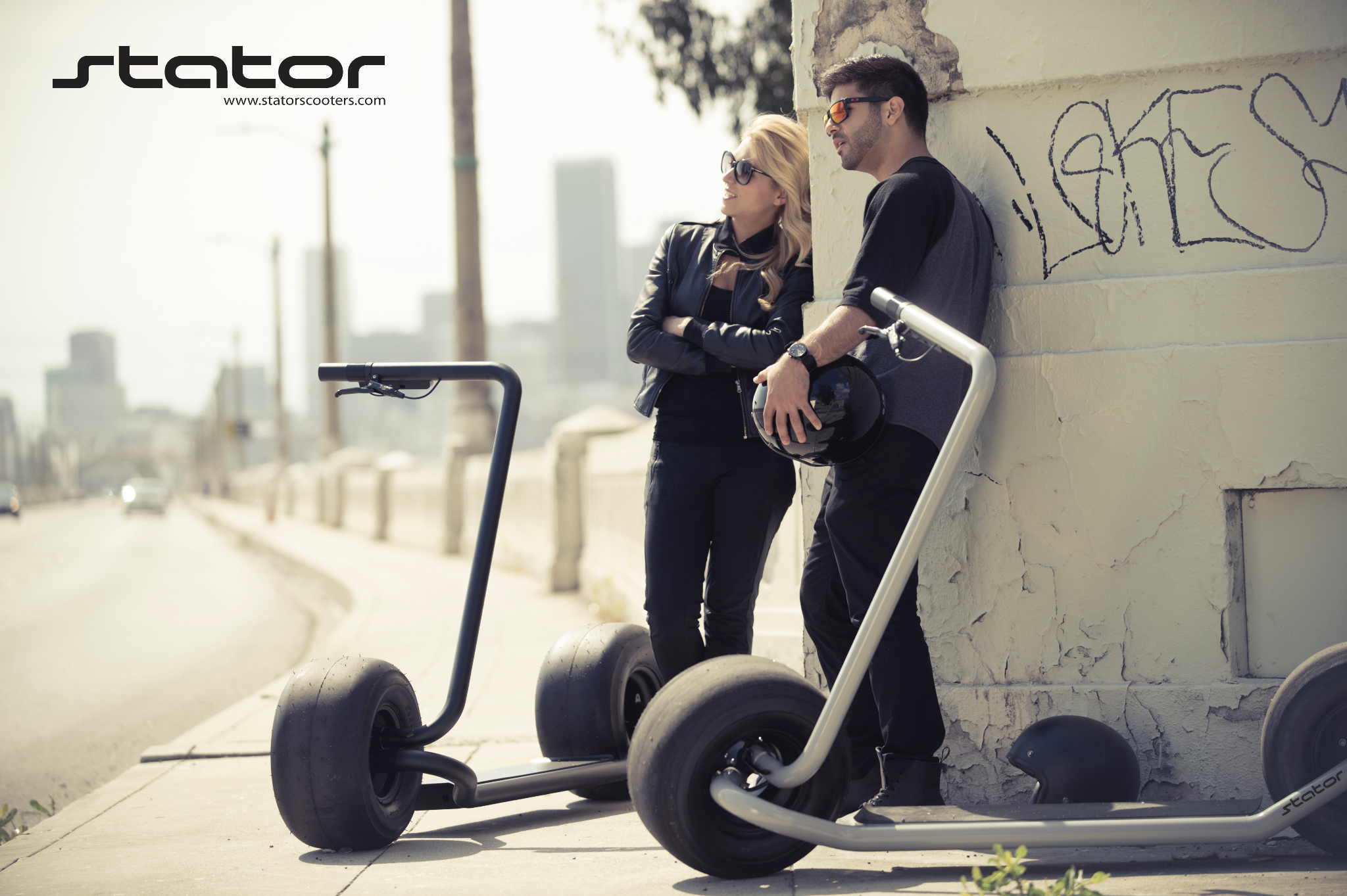 Stator Scooter by Nathan Allen United States Michelin