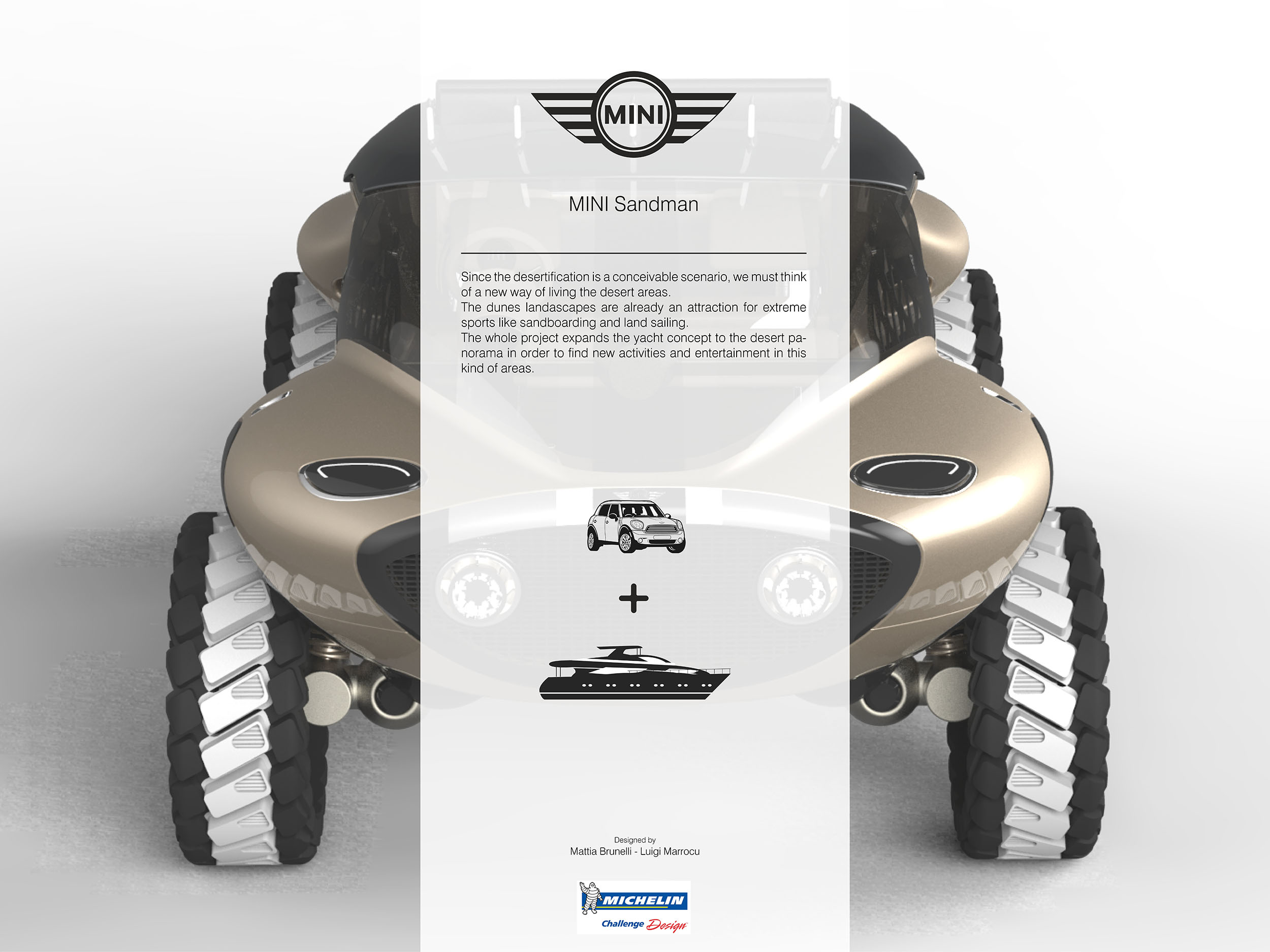 home product design.  Michelin Challenge Design Advancing Mobility Through